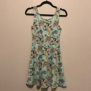 Floral sea foam skater dress from H&M